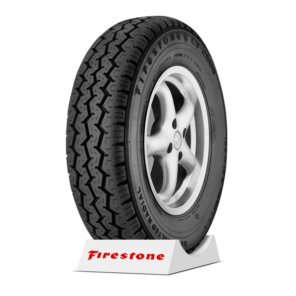 pneu firestone aro 14 - 185r14 cv2000 - 8 lonas - 102  100n