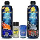 Kit-Limpeza-Autoshine---Lava-Auto---Limpa-Pneus---Silicone-Liquido---Aromatizante-